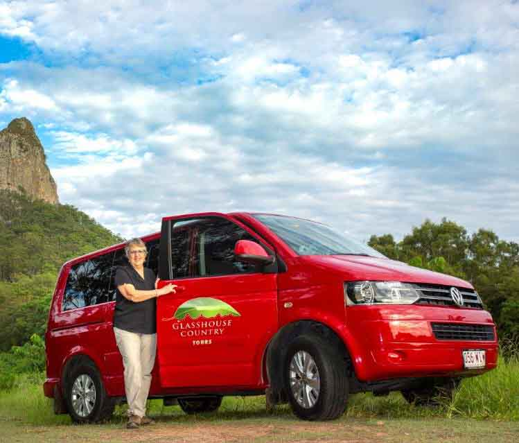 Glasshouse Country Tours van